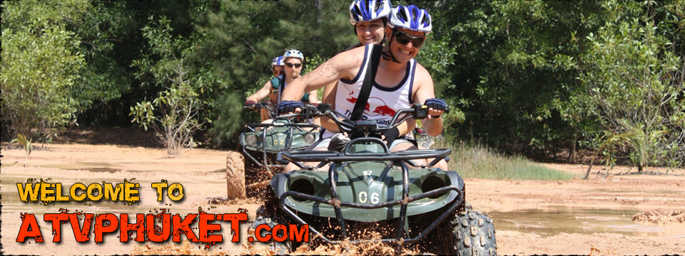 ATV Tour, out door activities and Team Building Games in Phuket