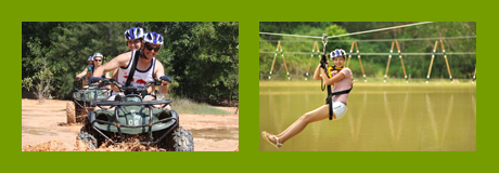 ATV Phuket: 1 Hour ATV Tour + Flying Fox and Rope Bridge in Phuket